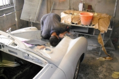 ...before the very long job of preparing the primed bodywork for paint can begin.