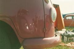pink van front