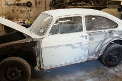 This 1966 short nose Fastback is having a mainly cosmetic restoration.......