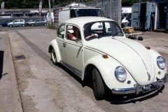 After owning it for 25 years and it being off the road since 1997 Anthony got to drive his Beetle for the first time in all those years today.....