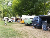 T25 meet at Cologne campsite