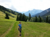 Walking near the Zillertal