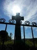 Ancient cross near Ardbeg