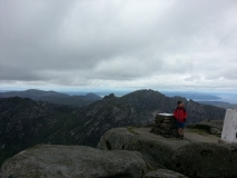 The summit of Goatfell