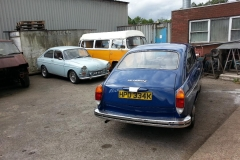 Not had a petrol injection Type 3 in the workshop for ages then you get two in the same week